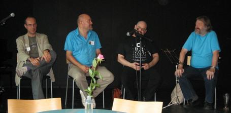 Stig W Jørgensen, Klaus Æ Mogensen, Charles Stross, Niels Dalgaard