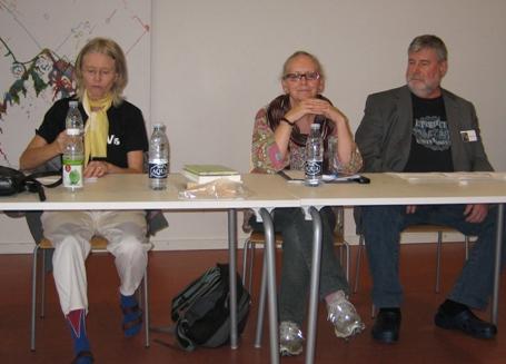 Ellen Miriam Pedersen, Gwyneth Jones, Ralan Conley
