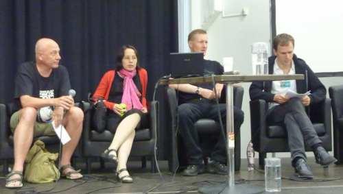 Markku Soikkeli, Aliette de Bodard, Stefan Ekman, Tom Crosshill
