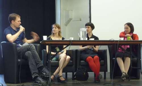 Tom Crosshill, Emmi Itäranta, Karin Tidbeck, Aliette de Bodard