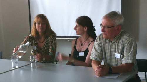 Liz Jensen, Tricia Sullivan, Tomas Cronholm