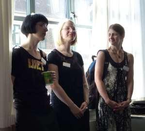 Opening: Karin Tidbeck, Nene Ormes, Tricia Sullivan