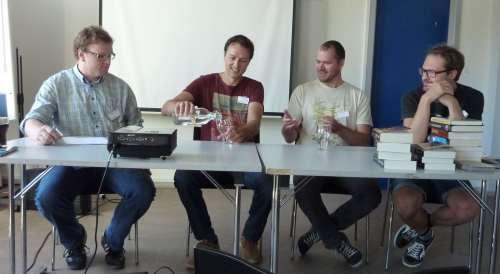 Bjarne Sinkjær, Asbjörn Rune Bourgeat, Toke Riis Ebbesen, Sven Damgaard Ørnstrup