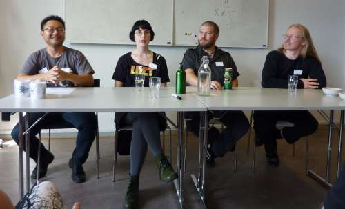 Lars Ahn Pedersen, Karin Tidbeck, Michael Kamp, Henrik Harksen