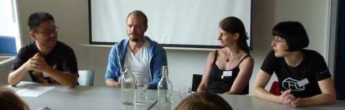Lars Ahn Pedersen, Peter Adolphsen, Tricia Sullivan, Karin Tidbeck