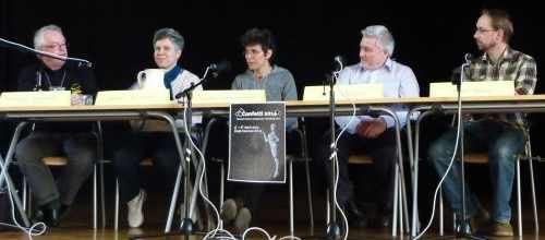 Glenn Petersen, Sandra Petojevic, Carolina Gómez Lagerlöf, John Meaney, Stefan Hagel