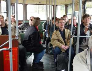 Svensk fandom åker spårvagn
