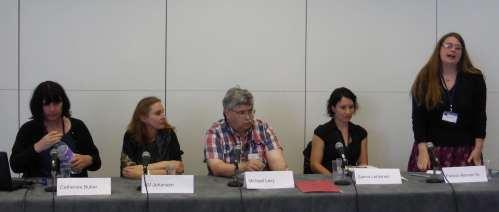 Catharine Butler, K V Johansen, Michael Levy, Sanna Lehtonen, Patricia Kennan (M)