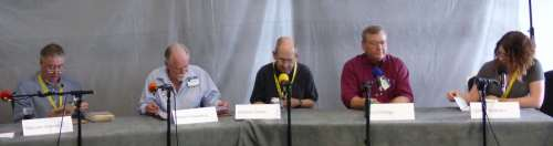Malcolm Edwards, Robert Silverberg, Stephen Baxter, Curt Phillips, Gillian Redfearn (M)