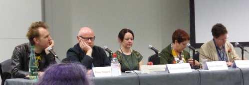 Nick Harkaway, Peter Higgins, Amanda Bridgeman, Darlene Marshall, Duncan Lawie (M)