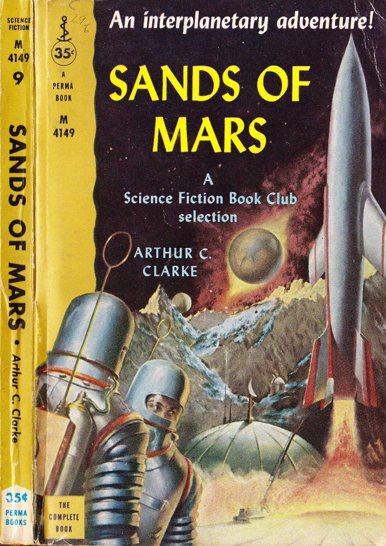 September 2014 bems blog arthur c clarke the sands of mars fandeluxe Image collections